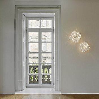 White finish / illuminated / in use