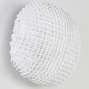 Shown unlit in White finish, Small size