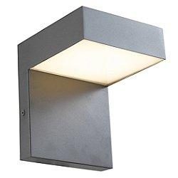 Claud LED Outdoor Rectangular Wall Light