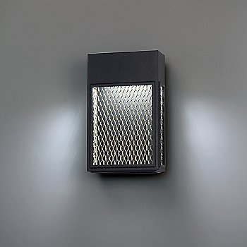 Metro LED Outdoor Wall Sconce, in use