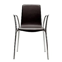 Gorka Leather Stacking Armchair