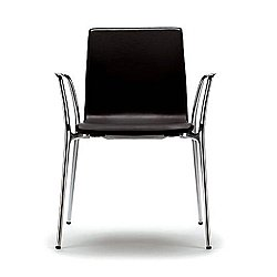Gorka XL Stacking Leather Chair