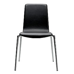 Gorka Leather Stacking Chair