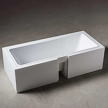 Wave Undermount Unclad Tub - Small