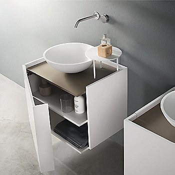 White finish / In setting