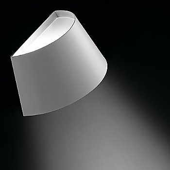 Shown in White with Silver finish, Large size