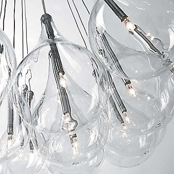 Drop LED Multi-Light Pendant, Detail view