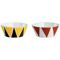 Circus Bowls, Set of 2