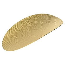 Ellipse Brass Tray