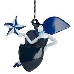 Blue Christmas Angel Ornament
