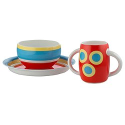 Alessini Con-centrici Children's Tableware Set