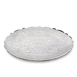 Dressed Round Tray Stainless Steel