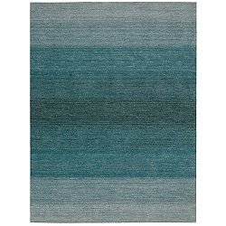 Linear Glow Watercolor Rug