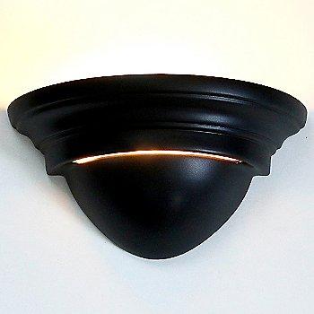 Slate Black finish, illuminated