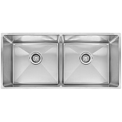 Professional Equal Double Bowl Undermount Kitchen Sink