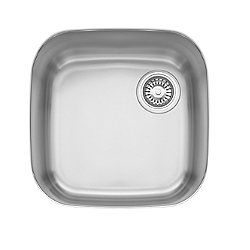 EuroPro Single Bowl Undermount Kitchen Sink