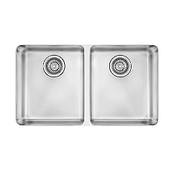 Kubus Equal Double Bowl Undermount Kitchen Sink