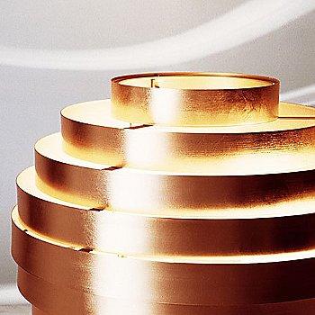 Copper leaf detail