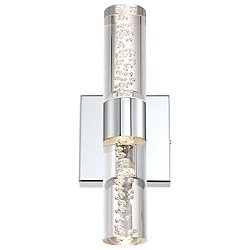 H2O 2-Light LED Bathroom Wall Sconce