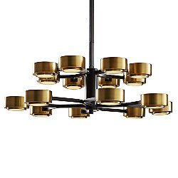 Jalen 2-Tier Chandelier