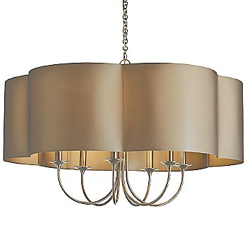 Shown in Antique Silver with Taupe Shade