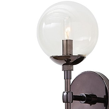 Shown in Brown Nickel with Smoke Glass