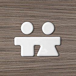 You & Me Unisex Bathroom Marker
