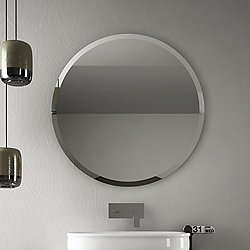 Azuley Round Mirror