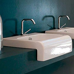 La Fontana Semi-Recessed Washbasin 45