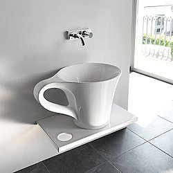One Shot Cup Countertop Washbasin