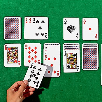 Solitare Cards / in use