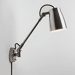Atelier Grande Wall Sconce (Polished Aluminum) - OPEN BOX