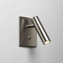 Enna Square LED Wall Sconce (Matte Nickel) - OPEN BOX RETURN