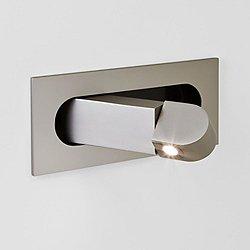 Digit LED Wall Sconce (Matte Nickel) - OPEN BOX RETURN