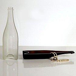 tranSglass Champagne Dish