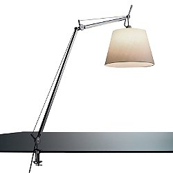 Tolomeo Mega Clamp Table Lamp (Parch/14/Incan) - OPEN BOX