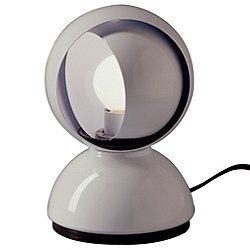 Eclisse Table Lamp (White) - OPEN BOX RETURN