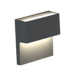 Piano LED Wall Sconce(Anthracite/Dimmable 2-Wire) - OPEN BOX