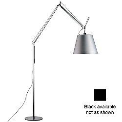 Tolomeo Mega Floor Lamp (Black/Alum/17/Incand) - OPEN BOX