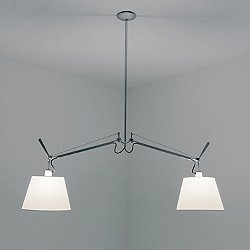 Tolomeo Double Shade Suspension Light