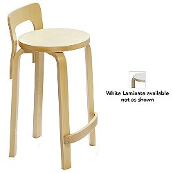 K65 High Chair (White Laminate) - OPEN BOX RETURN