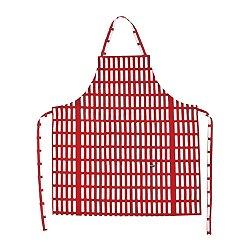 Siena Apron (Red/ White) - OPEN BOX RETURN