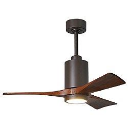 Patricia 3-Blade LED Ceiling Fan (Bronze/42 In) - OPEN BOX