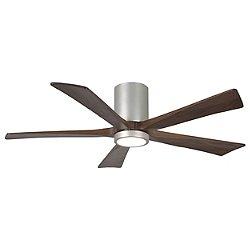 Irene-HLK 5-Blade LED Ceiling Fan (Wlnt/Nickl/52) - OPEN BOX