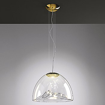 Shown lit in Crystal Gold