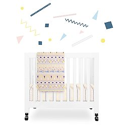 Desert Dreams 4-Piece Mini Crib Set