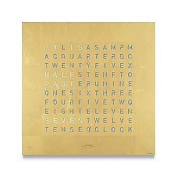 24K Gold Leaf Stainless Steel color / English Language