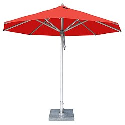 Hurricane Round Aluminum Market Umbrella, 10ft.