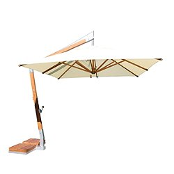 Side Wind Range Square Umbrella