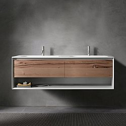 45 Degree Up Series 1400 Vanity and Sink